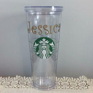 Starbucks Kitchen - Personalized Starbucks Plastic Tumbler, Jessica